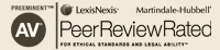 AV Rated by LexisNexis Martindale Hubbell